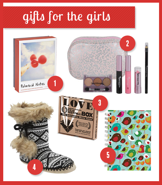 holiday gift guide for the girls
